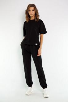 джемпер,  брюки Kivviwear 4036-4037 черный