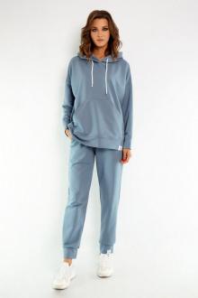 брюки, худи Kivviwear 4015-4040 дымчатый-голубой