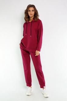брюки, худи Kivviwear 4015-4040 марсала