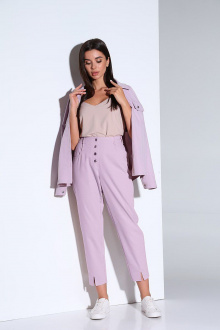 брюки,  жакет Andrea Fashion AF-158 лаванда