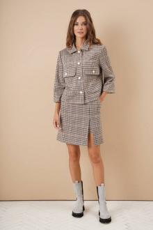 жакет,  юбка Fantazia Mod 4018
