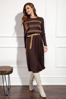 юбка Nova Line 3686 коричневый