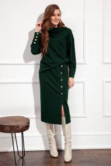 юбка Nova Line 3687 тёмно-зелёный