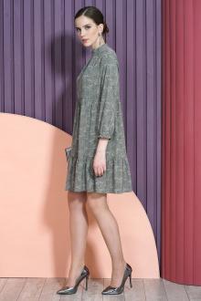 платье Alani Collection 1465 хаки