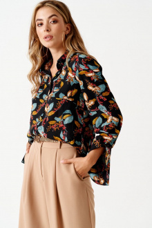 блуза ELLETTO LIFE 3505 черный