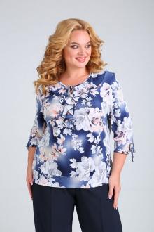 блуза Mamma Moda М-5 синий
