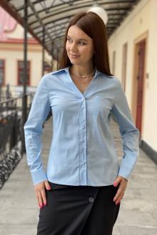 блуза S.O.L O Me М-642 голубой