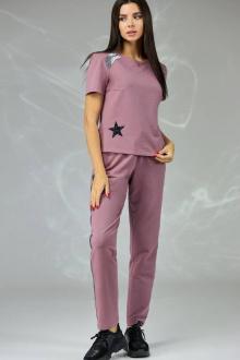 брюки,  футболка Angelina & Сompany 375 фиолетовый