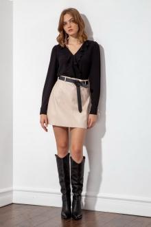блуза S_ette S2036 чёрный