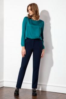 Блуза S_ette S2054 тёмно-лазурный