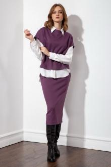 юбка S_ette S3015 фиолетовый