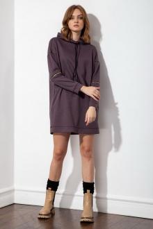 платье S_ette S5051 баклажановый