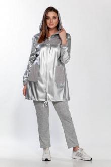 брюки,  куртка Belinga 2185 серебро/серый