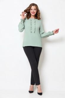 блуза БелЭкспози 1392 оливковый