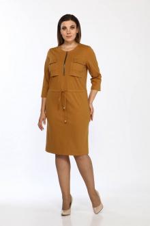 платье Lady Style Classic 1679/2 горчичный