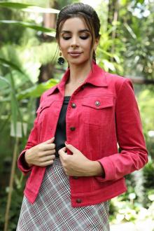 куртка Мода Юрс 2400к малиновый