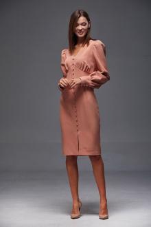 платье Andrea Fashion AF-165 персик