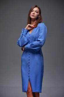 платье Andrea Fashion AF-165 синий