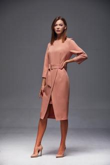 платье Andrea Fashion AF-175 персик