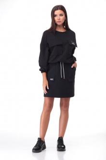 джемпер,  юбка Bonna Image 631 черный