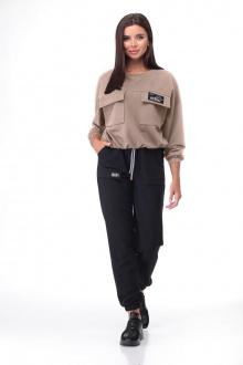 брюки,  джемпер Bonna Image 632 беж+черный