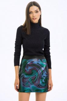 юбка LaVeLa L20239 черный