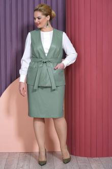 блуза,  жилет,  юбка Alani Collection 1468