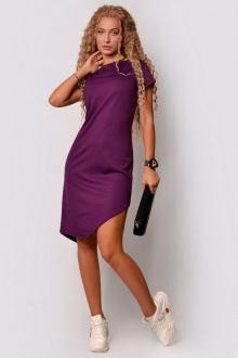 платье PATRICIA by La Cafe С15151 фиолетовый