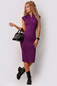 платье PATRICIA by La Cafe F15107 сиреневый
