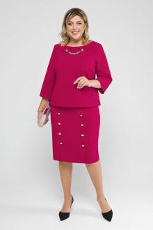 блуза,  юбка Pretty 2034 фуксия