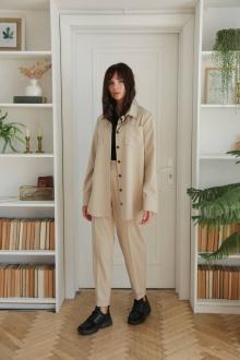 блуза,  брюки LadisLine 1391 бежевый
