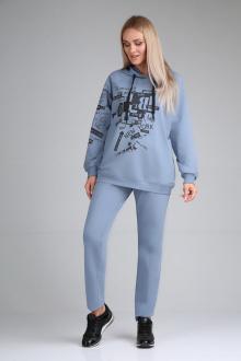 брюки,  джемпер Mubliz 596 голубой