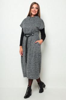 платье Michel chic 2066 серый-меланж
