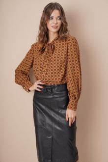 блуза Fantazia Mod 4017 рыжий
