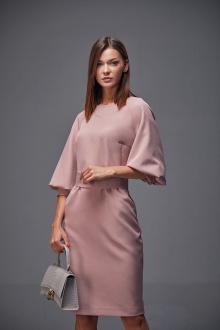 платье Andrea Fashion AF-166 розовый