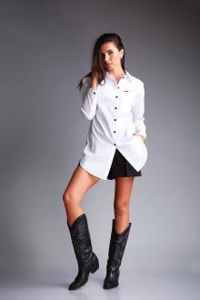 рубашка Andrea Fashion AF-178 белый