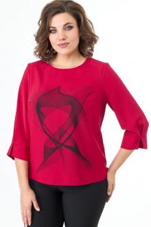 блуза ELITE MODA 5206 красный
