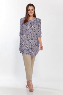 блуза Belinga 5117 голубой