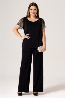 блуза,  брюки Панда 21120z черный