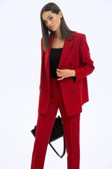 Жакет LaVeLa L30082 красный