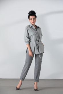 блуза,  брюки ElPaiz 696 серый