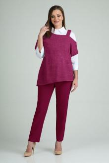 блуза,  брюки,  жилет ELGA 13-713 фуксия