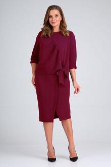 блуза,  юбка ELGA 22-716 малина