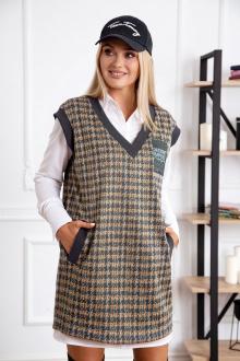 блуза,  жилет Azzara 810С