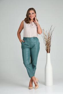 брюки Verita 2117.1 сине-зеленый