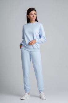 брюки,  толстовка IVARI 61301 голубой