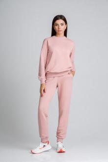 брюки,  толстовка IVARI 61301 розовый