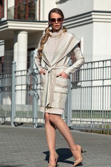 платье, полупальто Diva 1311-2 св.беж