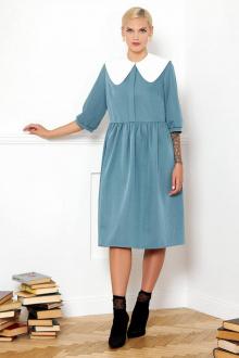 платье VIZANTI 8381 бирюзовый