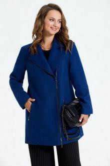 пальто TEZA 1565 синий